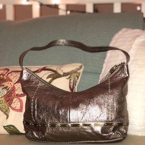 The Sak Metallic purse